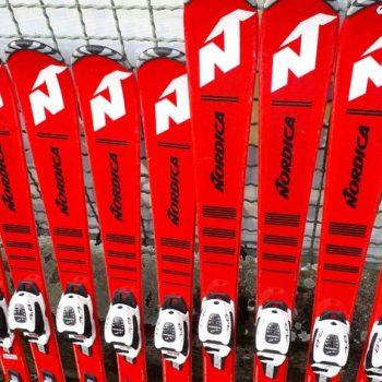 juniorské lyže